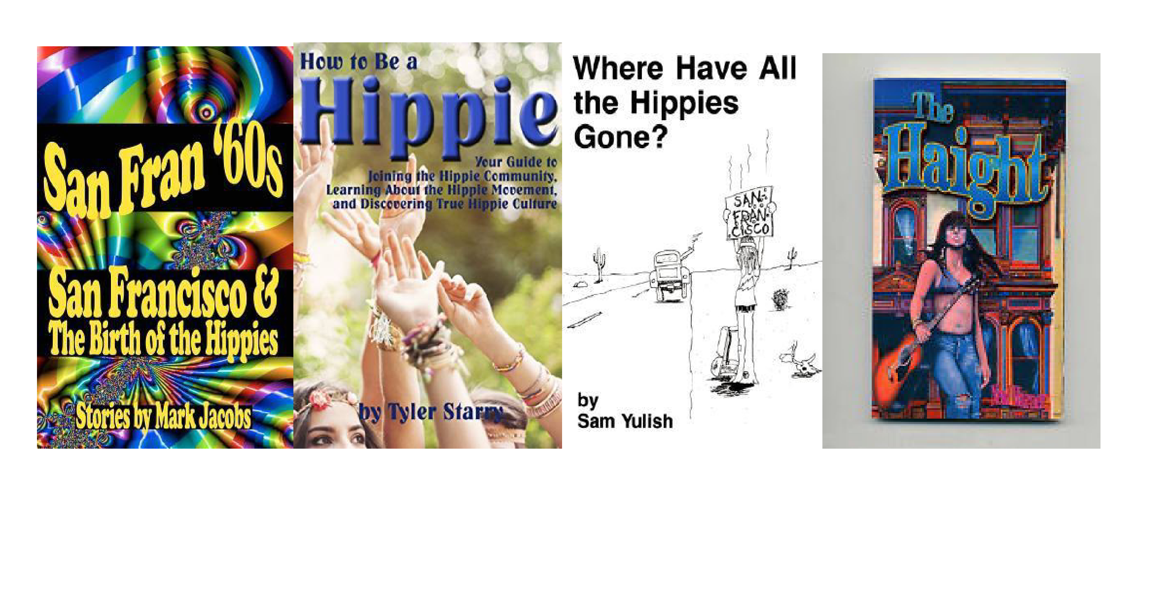 Why are hippie novels so negative?